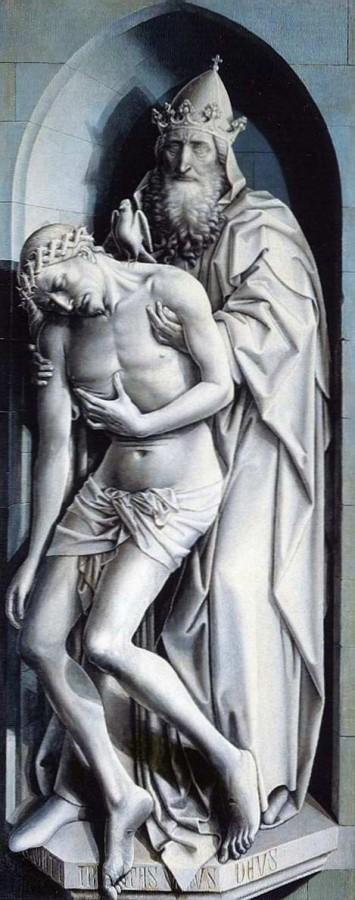 1425 Флемальский алтарь Троица