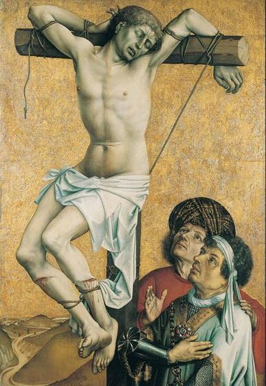 1430 Разбойник на кресте