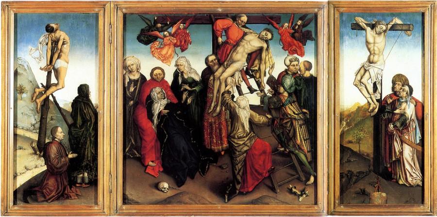 1448-1465 Снятие с креста Галерея Уокер Ливерпуль копия