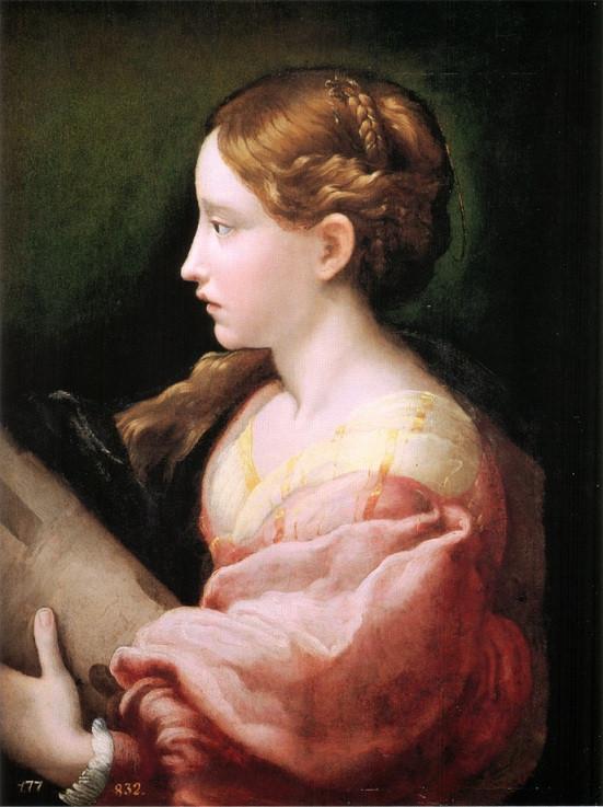 Parmigianino_-_Saint_Barbara_-_c._1522
