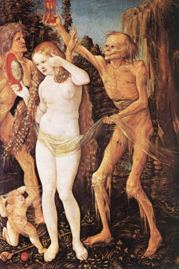 1 Балдунг Гриен Три возраста Женщины и смерть 1509-1510 Художественно-исторический музей  Вена