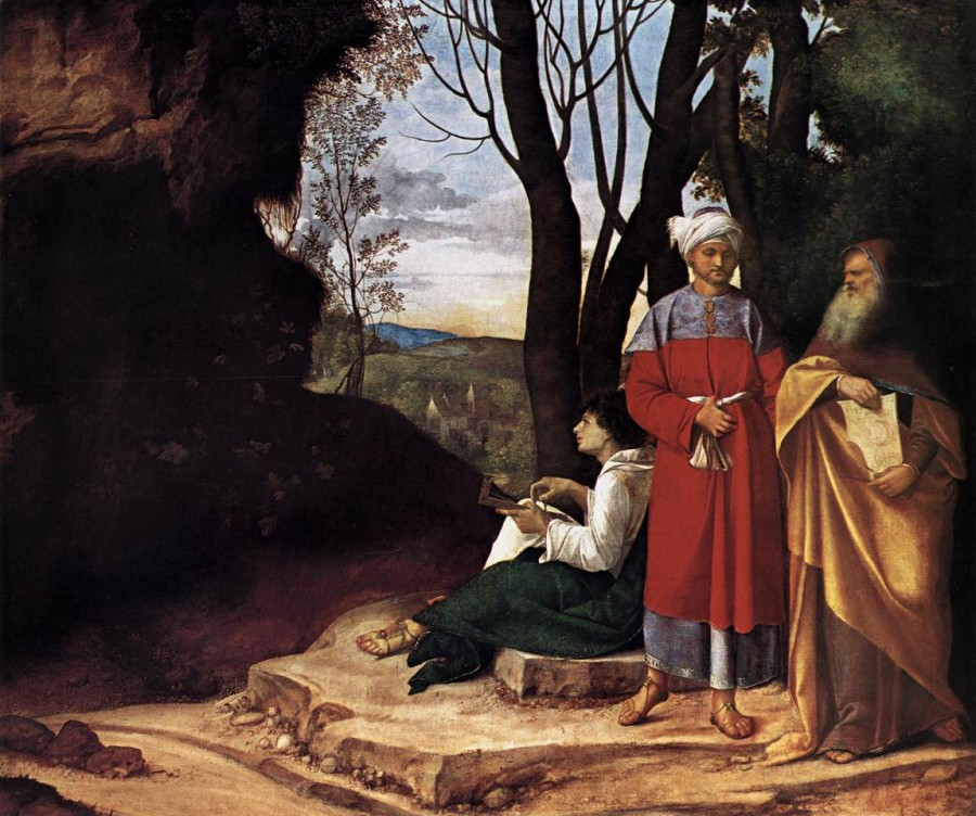 5 Джороджоне Три философа