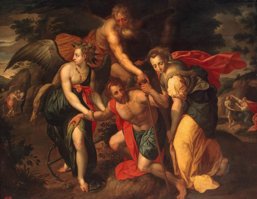 10 Jacob_de_Backer_-_Allegory_of_the_Three_Ages_of_Manвтор пол 16 века
