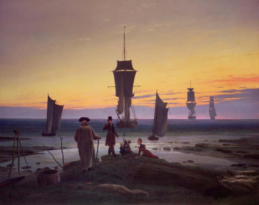 16 Каспар Давид Фридрих этапы жизни