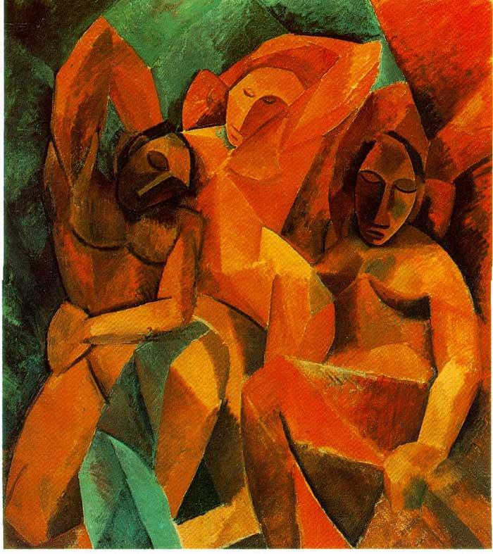 20 Пикассо Три возраста женщины -1908-09