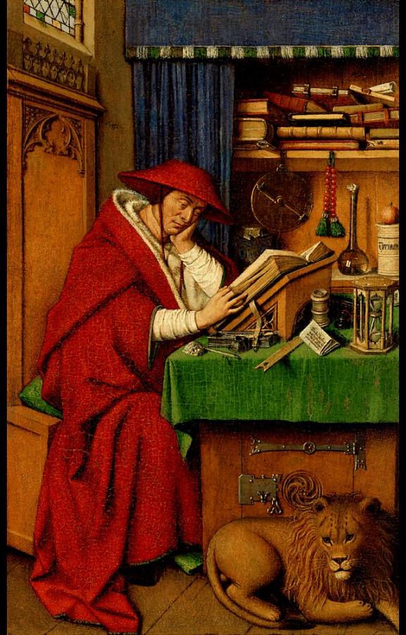1441 Jan_van_eyck,_san_girolamo_nello_studio,_detroit