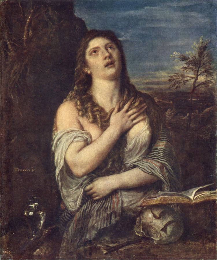 Мария Магдалина Тициан
