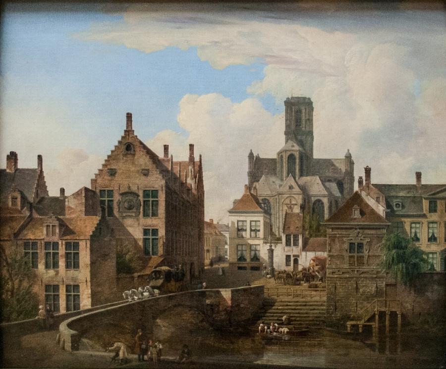 De_Sint-Baafskathedraal_en_de_Reep_in_Gent