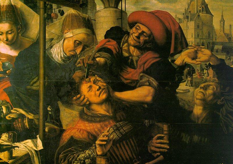 Ян Сендерс ван Хемессен ХИРУРГ 1555