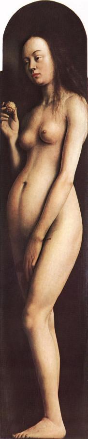 Гентский алтарь, Ева, 1432