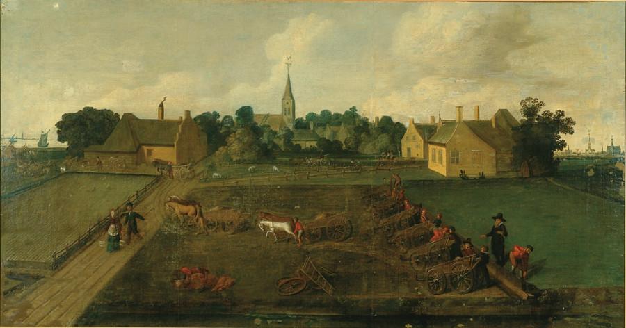 1 Anoniem, Hollands - Строительство дамбы
