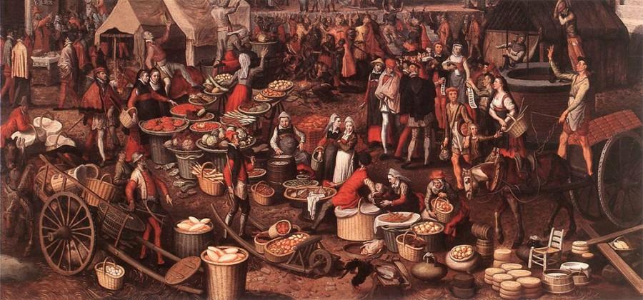 3 Рынок в Амстердаме 1580-е