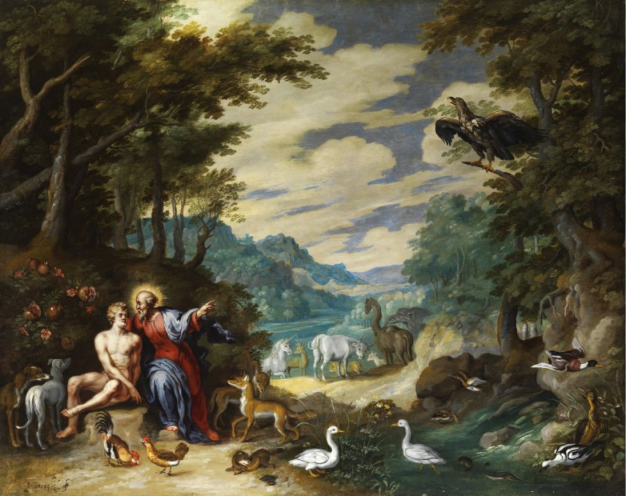 1Jan_Brueghel_the_Younger_Сотворение Адама