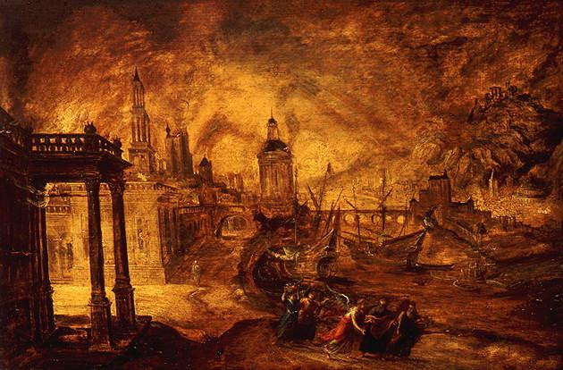 5aК.Кейнинк 16 век Гибелт Содома и Гоморры