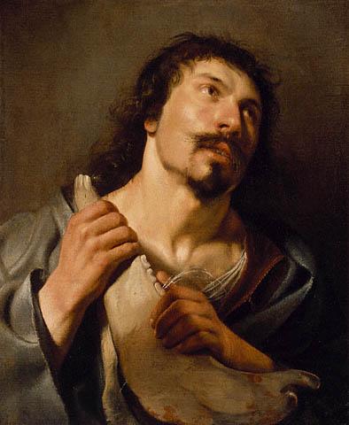11 Саломон де Брай Самсон с ослиной челюстью 1636