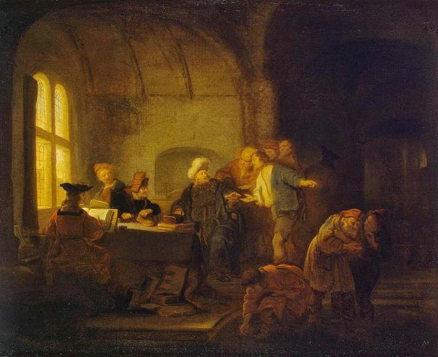 xSalomon_Koninck_ПРитча о работниках виноградника серед 17