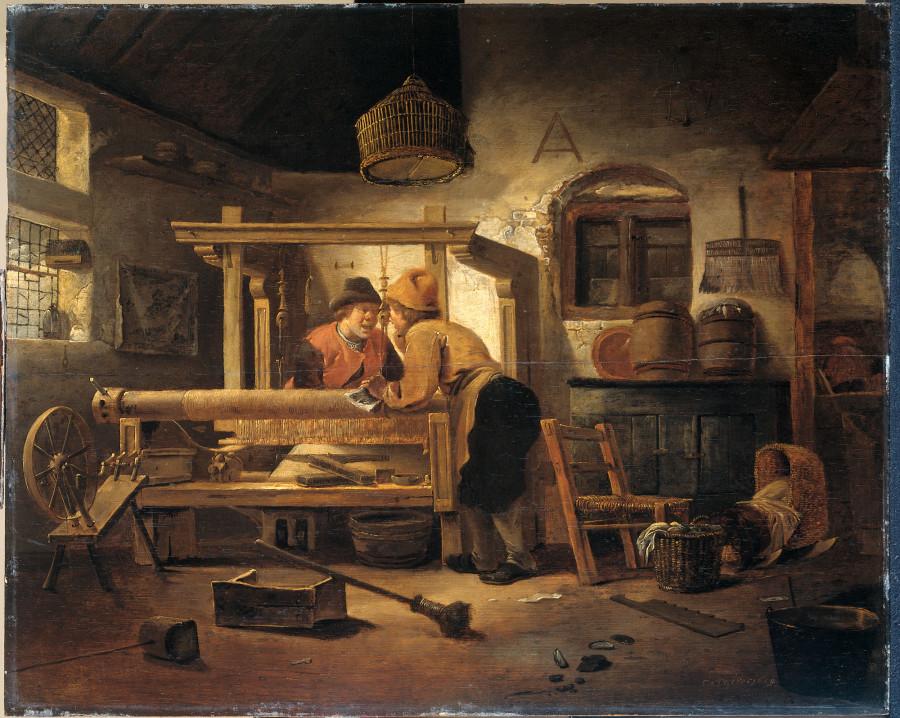 5а Корнелис Геррит Деккер Weverswerkplaats, 1659