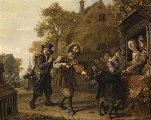 23 Ян Викторс The blind fiddler