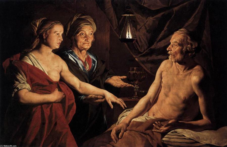 1 Matthias-Stom Сара приводит Агарь к Аврааму