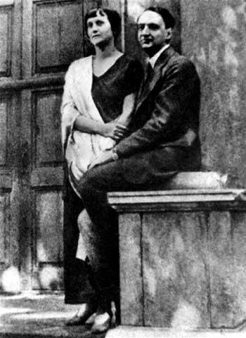 Ахматова и Пунин 20-е