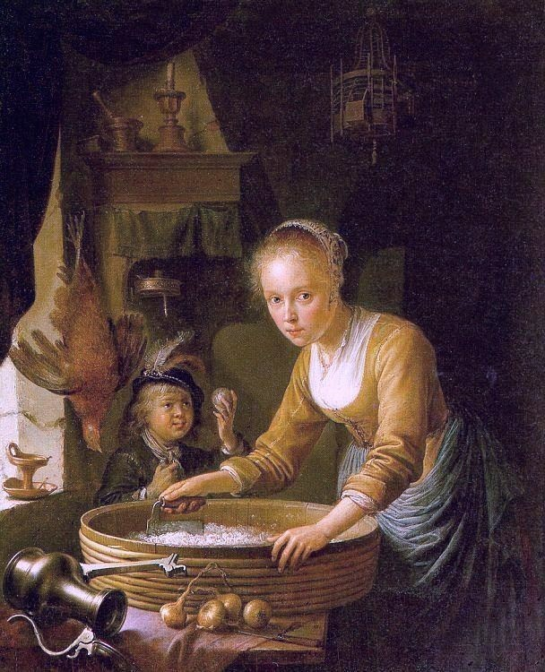 4 Gerrit_Dou_1646_painting_Girl_Chopping_Onions[1]
