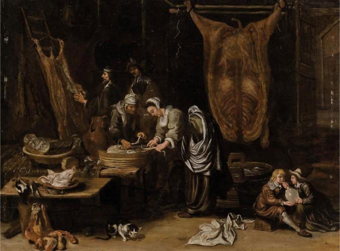 5 Хендрик Мартенс Сорх A butcher's interior