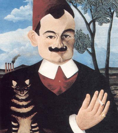 Анри Руссо портрет Пьера Лотти