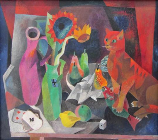 Хайнрик Кампедонк Красный кот