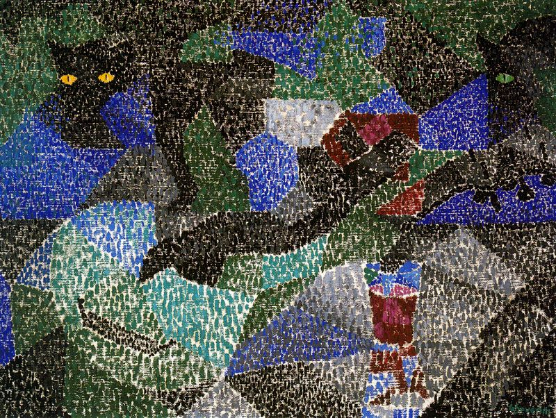 The Black Cat (1911 - Gino Severini)
