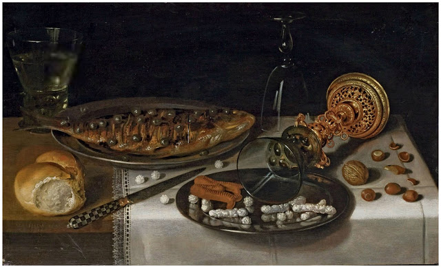 15 Виллем Клас Хеда (1594-1680) Натюрморт  пр.,холст масло33.5 x 56-1