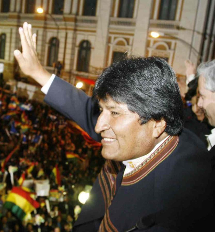 Эво Морлес президент Боливии индеец аймара