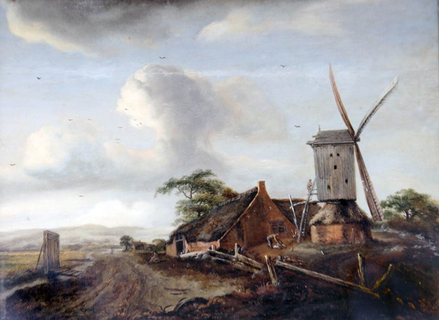 Meindert_Hobbema._Landscape_with_a_windmill_(17th_century) (1)