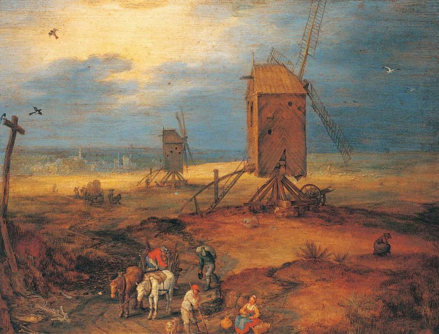 1 Брейгель Сарший Четыре ветряные мельницы