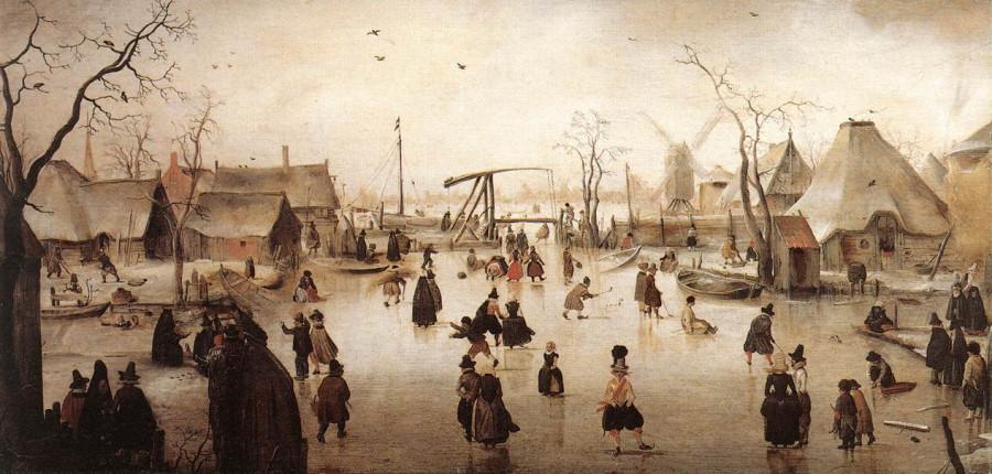 1 Генрих Аверкамп Сцена на льду