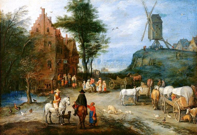 1 Ян Брейгель  1603