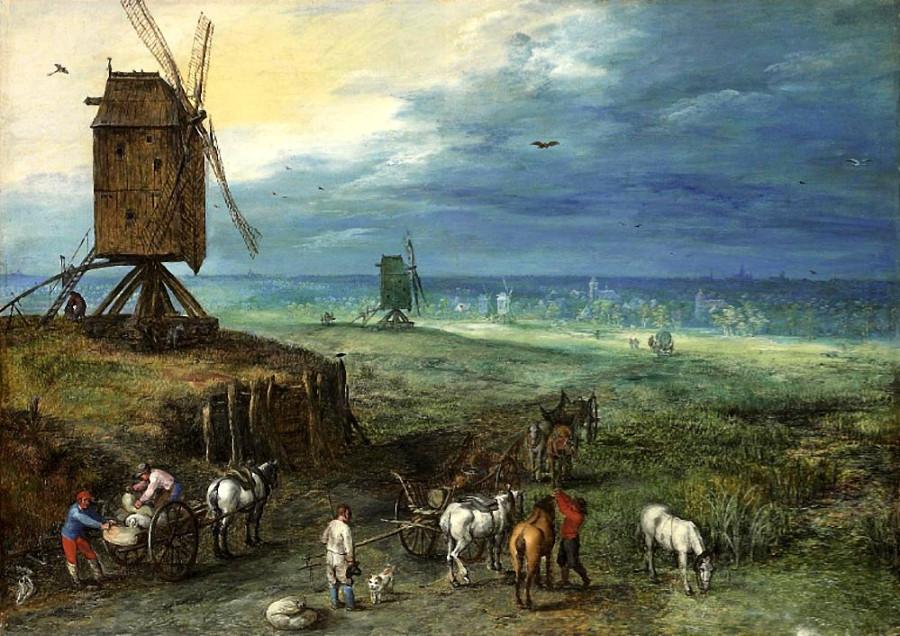 1 Ян Брюгель  1607