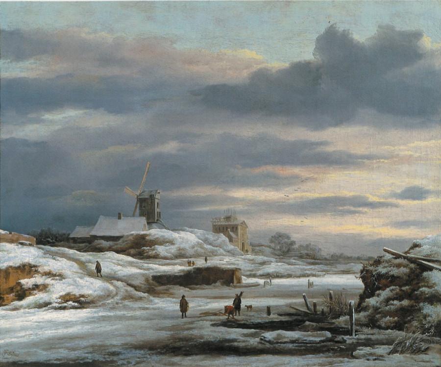 2 Якоб ван Рейсдейл winter w mill priv coll