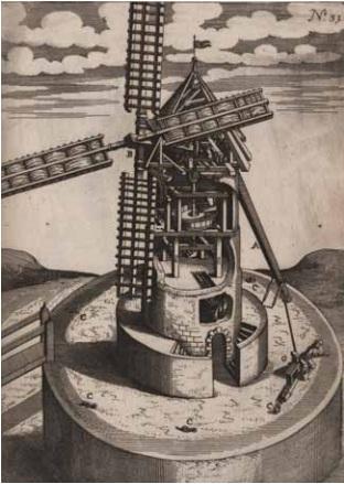 3 Башенная мельница