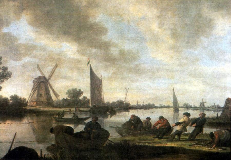 4 Flusslandschaft_mit_Fischern_Jan_van_Goyen[1]