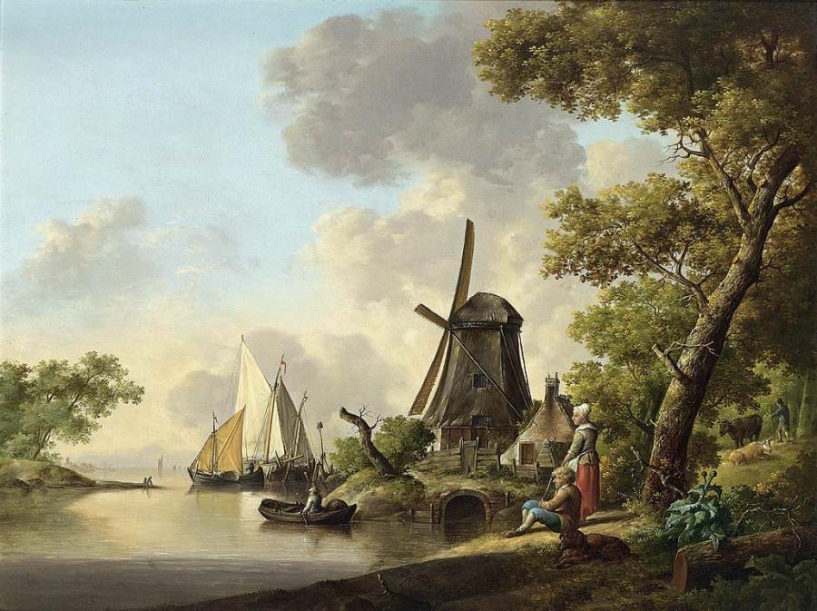 4 Ян ван Ос 18 век