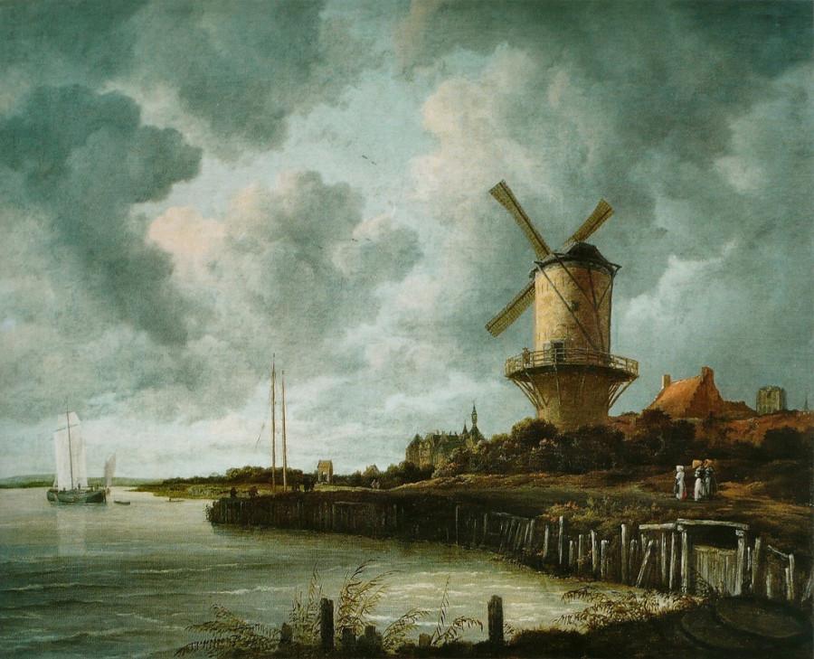 5 Якоб ван Рейсдейл _Le_Moulin_de_Wijk-bij-Duurstede