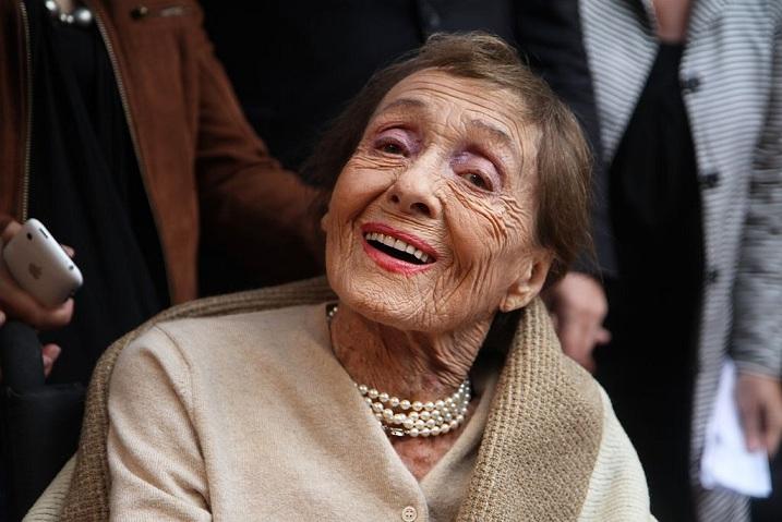Луиза Райнер 104 года на полгода старше