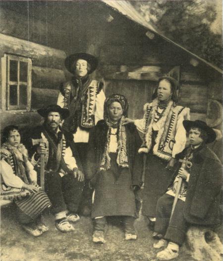 Гуцулы из Яворова