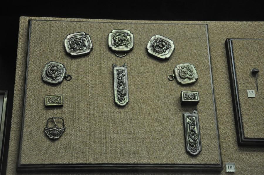 35 бронзовые наборные украшения Золотая орда