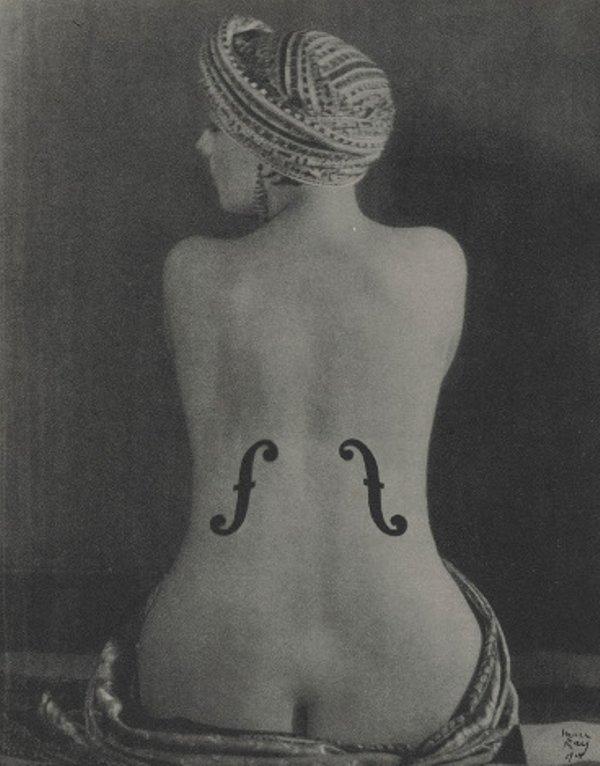 19 Скрипка Энгра Ман Рей