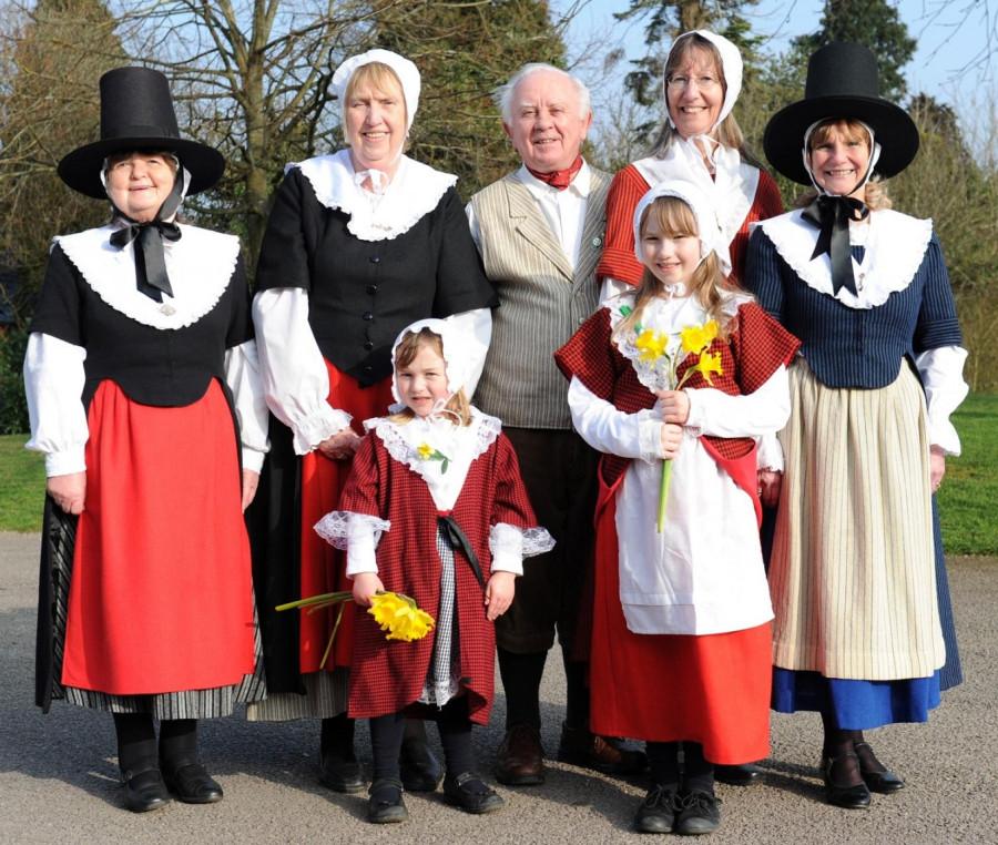 5 Валлийский традиционный костюм