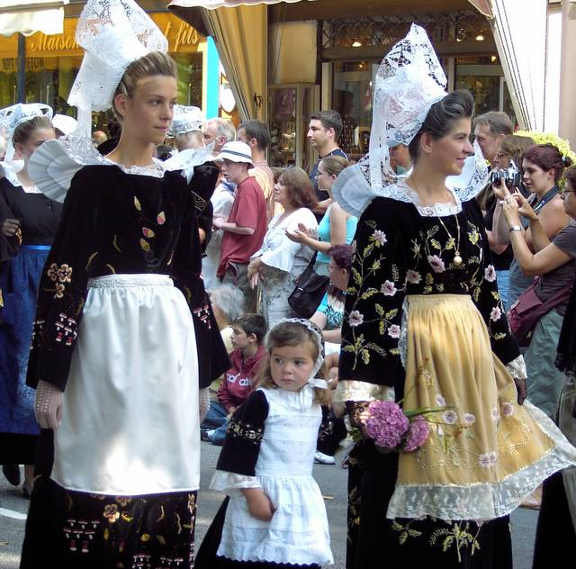 5 Франция Бретонские костюмы