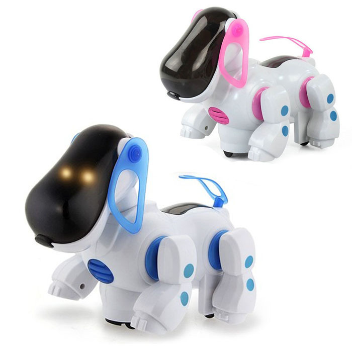 41 New-Pink-Cute-font-b-Robotic-b-font-Electronic-Walking-Pet-font-b-Dog-b-font