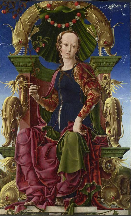 7 хМуза Каллиопа 1465 Козимо Тура