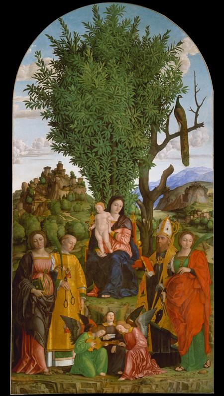 14 Джероламо да Либри 1520 лавр победа и бессмертие